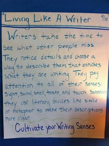Living Like a Writer