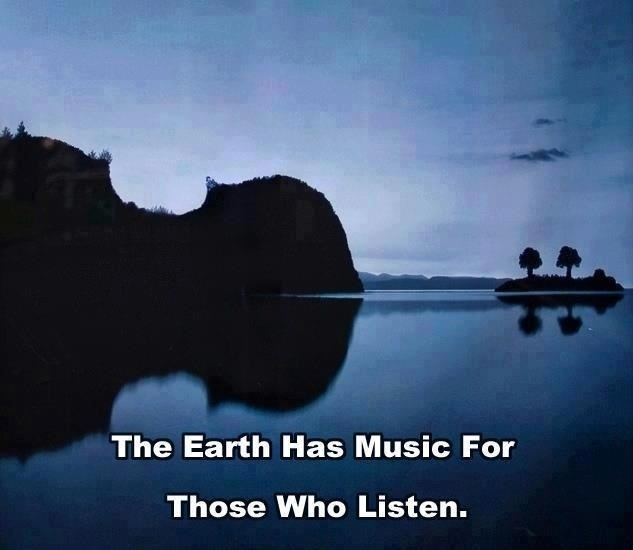 Listen for the Music Today:)