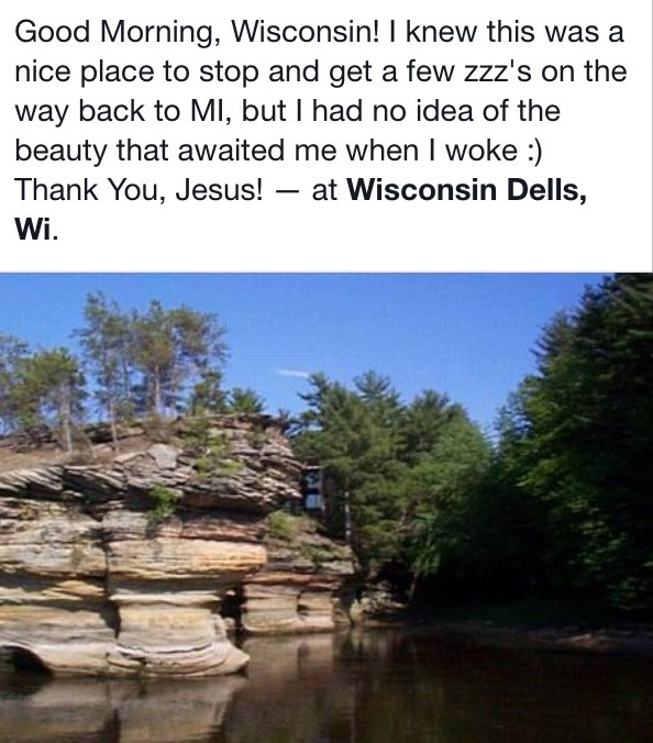 Heigh-ho, the Derry-o the Beauty of The Dells!
