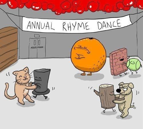 Poor Orange —Hahaha!