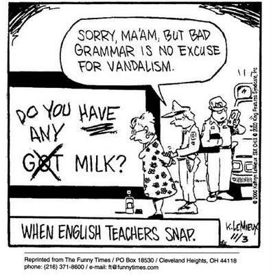 When English Teachers Snap