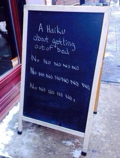 Best. Haiku. Ever:)