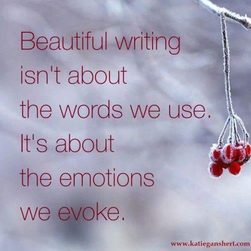 Beautiful Writing…