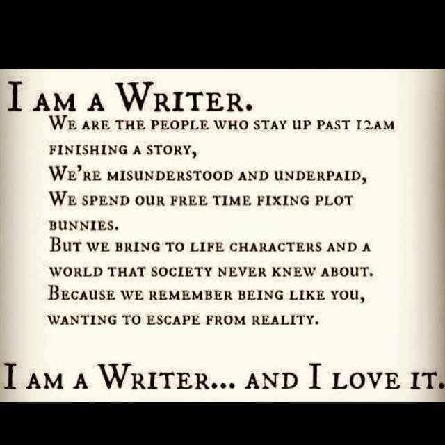 I Am aWriter!