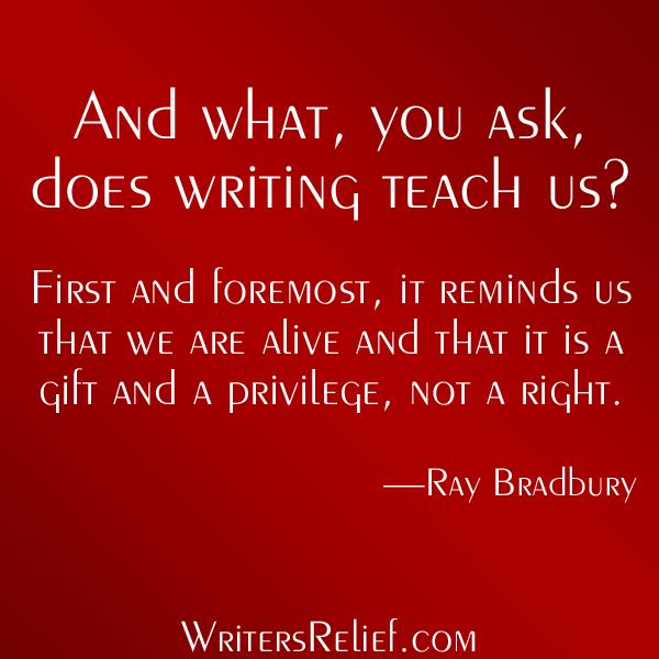 What Writing TeachesUs